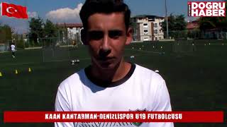 Gambar cover KAAN KANTARMAN DENİZLİSPOR U19 FUTBOLCUSU  11 EYLÜL 2018