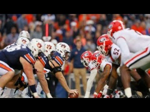 Georgia vs Auburn SEC Championship Game Hype & Hate 2017