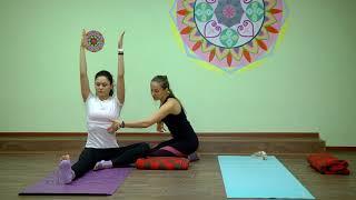 Видеоурок по йоге. Выпуск 1