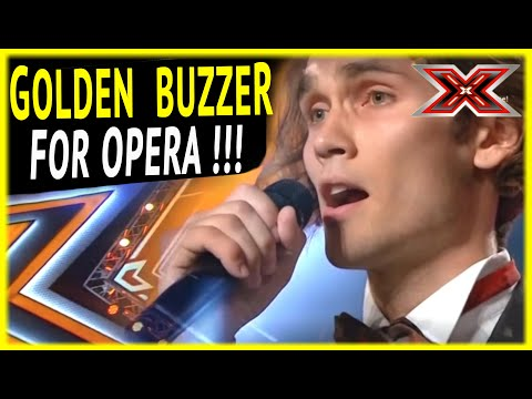 FASHION MODEL Alexander sings OPERA and gets GOLDEN BUZZER !!!