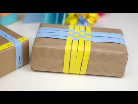 Easy DIY Gift Wrapping Ideas. 7 Awesome Ways to Wrap Gifts with Brown Paper