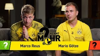 Marco Reus vs. Mario Götze | Who knows more? - The BVB-Duel-Revenge
