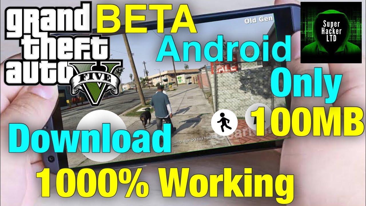 gta v mobile beta download