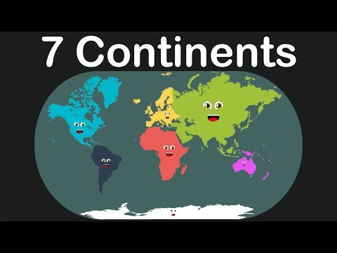 Seven Continents Song/Kids Learning Tube
