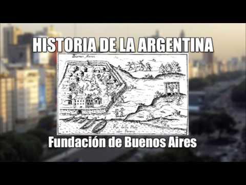 4 - Historia de la Argentina - Fundación de Buenos Aires (Audio)