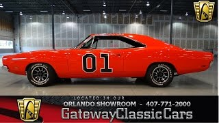 1969 Dodge Charger General Lee Gateway Classic Cars Orlando #193