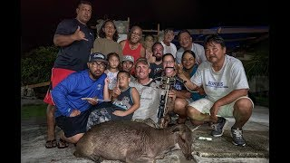 Sambar Deer {Catch Clean Cook} Very RARE hunt on ULTRA Remote Island Rota, CNMI