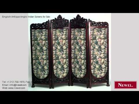 English Antique Anglo-Indian Screens for Sale