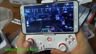 iPega PG 9025 Gamepad распаковка,обзор,тест (посылка№17)