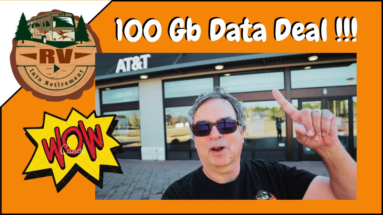 Download RV INTERNET | AT&T 100 Gb Data Deal |  Goodbye OTR Mobile and  3rd party Data Providers