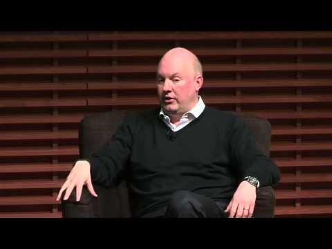 Marc Andreessen: Three Industry Sectors Software Will Transform