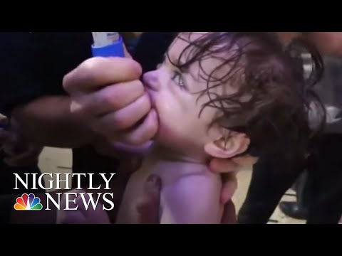 As Chemical Weapons Inspectors Reach Douma, Syria Says Suspected Attack Was Fake   NBC Nightly News