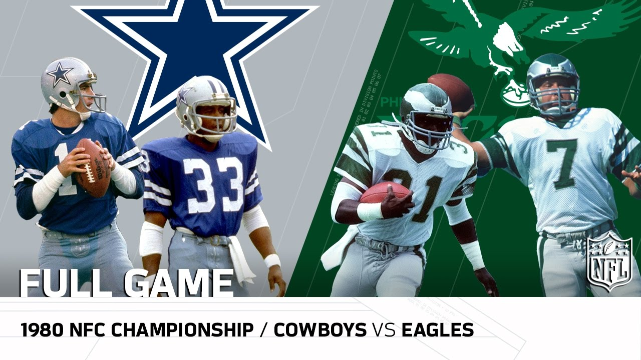 1980 NFC Championship  Dallas Cowboys vs. Philadelphia Eagles  221f5fdea