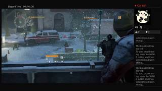 The Division, Part Thirty Five, PS4 Live Broadcast, No Commentary, Walkthrough