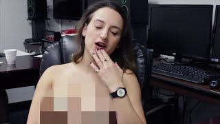 Naked at work girls Real