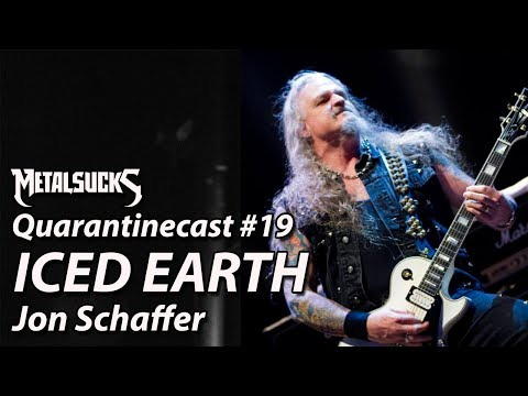 ICED EARTH's Jon Schaffer on The Quarantinecast #19