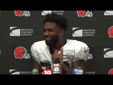 Jarvis Landry Comments on Antonio Callaway's Suspension - MS&LL 8/12
