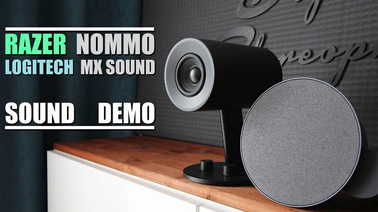 Razer Nommo vs Logitech MX Sound || Sound Demo w/ Bass Test