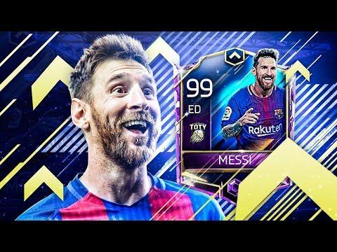 MESSI TOTY !!! 99 DE MEDIA !!! REVIEW EPICA !!! || FIFA 18 MOBILE