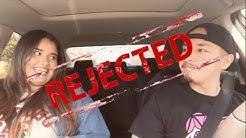 Uber Driver Raps & Asks Girl On Date! (REJECTED)