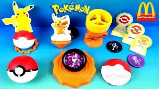 Next new 2019 mcdonald's pokemon happy meal toys mewtwo strikes back evolution movie full set 6 kids pikachu nintendo japan asia collection unboxing review #...