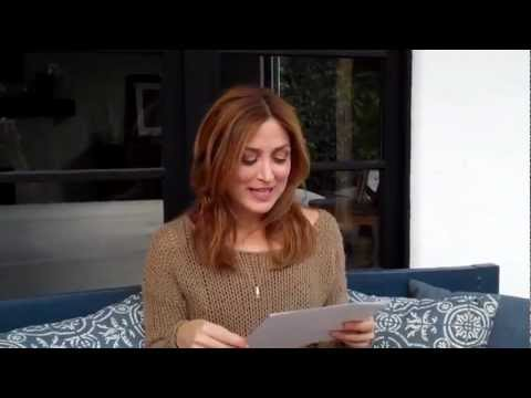 Sasha Alexander answering fan questions
