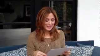 Sasha Alexander answering fan questions
