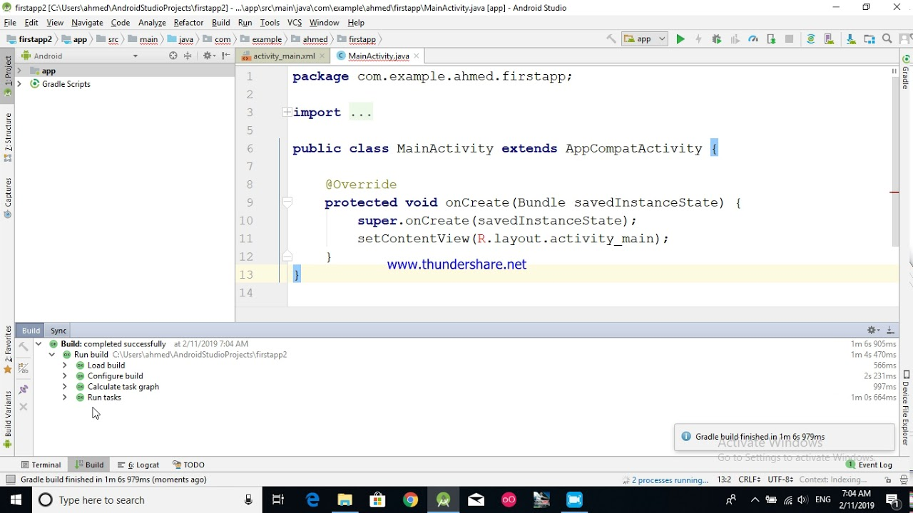 android studio حل مشكلة llvm-rs-cc is missing/ design editor is ...