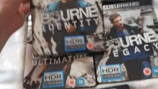Jason Bourne Collection on 4K UHD Review