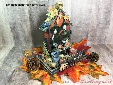 Tim Holtz Halloween Tiny House