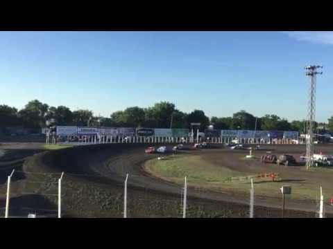June 28 River Cities Speedway Late model Heat 2