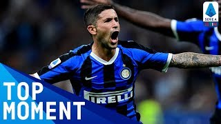 Stefano Sensi's drive makes it 2-0 | Inter 4-0 Lecce | Top Moment | Serie A