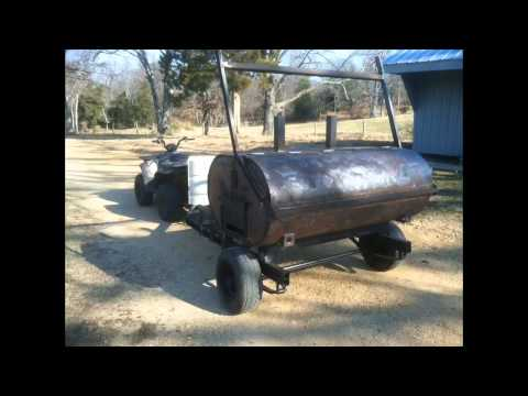 275 Gallon Oil Drum Pig Rotisserie With Varriable Speed
