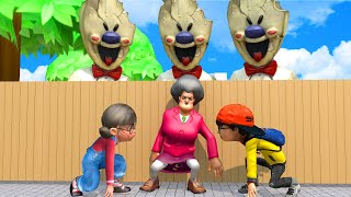 Scary Teacher 3D Chapter 6 VS Subway Surfers, Nick and Tani  - The Best of troll Miss T COMPILATION