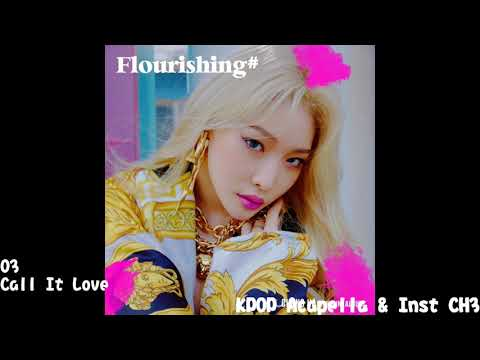 [Acapella] CHUNG HA (청하) - Call It Love