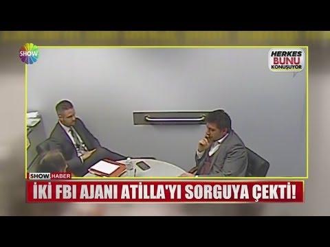 İki FBI Ajanı Atilla'yı Sorguya çekti!