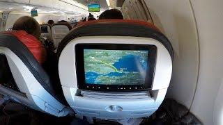 Turkish Airlines A321 Sharklets Istanbul-Frankfurt (THUNDERSTORM!)