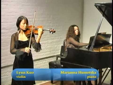 Les AMIS Concerts: Lynn Kuo, violin; Marianna Humetska, piano on Serbian TV Toronto, Part 2 of 2