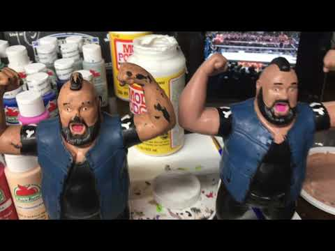 WWF LJN One Man Gang Restoration