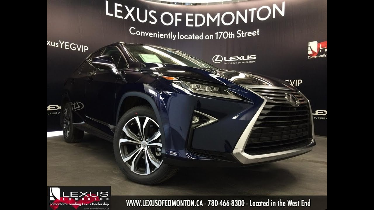 2016 Lexus RX 350 AWD Blue On Noble Brown Executive