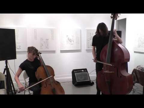 Leila Bordreuil, Zach Rowden @ Gallery 456 10-2-16