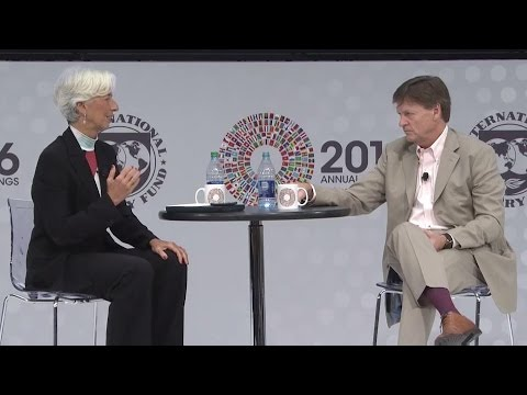 OneonOne with Christine Lagarde, featuring Michael Lewis