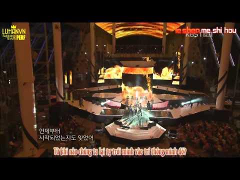 [LUHANVN'S SUB][Vietsub + Kara][Perf] MAMA - EXO (Korean-China Festival)