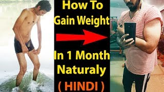 How To Gain Weight Fast Naturally NO SUPPLIMENT | Increase Weight In 30 Days Naturally | Asad Ansari