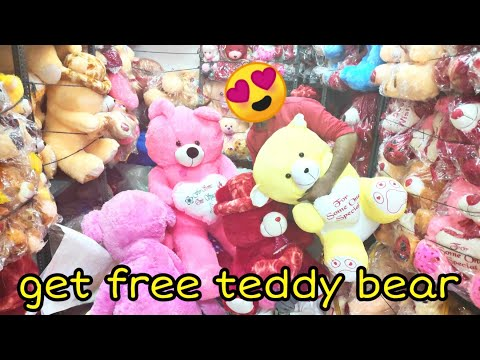 TEDDY BEAR MARKET || VALENTINE SPECIAL || Soft Toys (teddy bear ) biggest Wholesale Market delhi