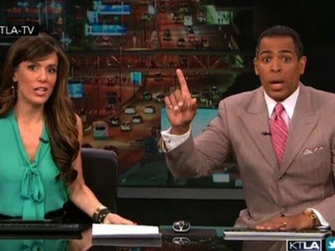Earthquake shakes up morning news anchors in Los Angeles