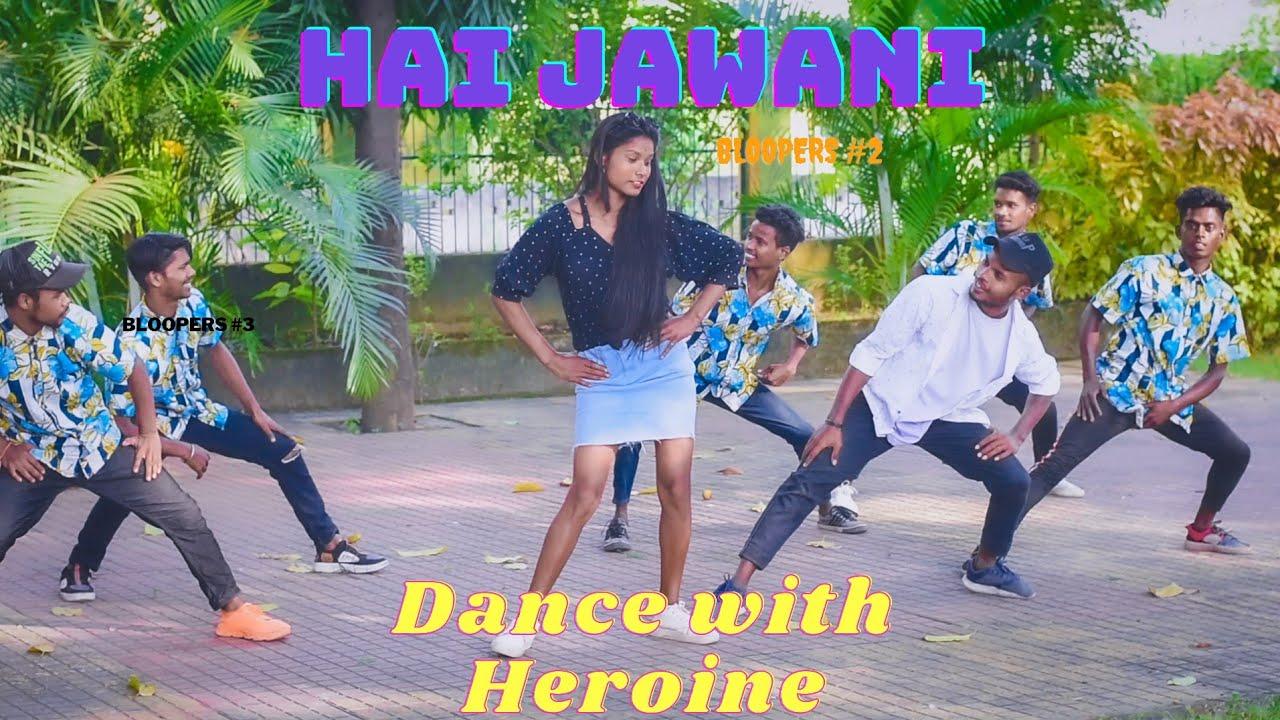 1 Heroine 2 Hero Dance Nagpuri Song Shooting