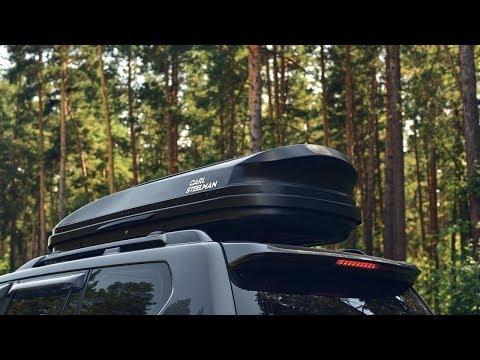 Обзор автобокса Carl Steelman серия SPORT объем 565 л черный карбон