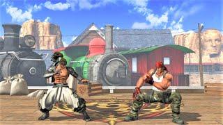 Bandeiras vs Ralf Jones (Hardest AI) - KOF XIV
