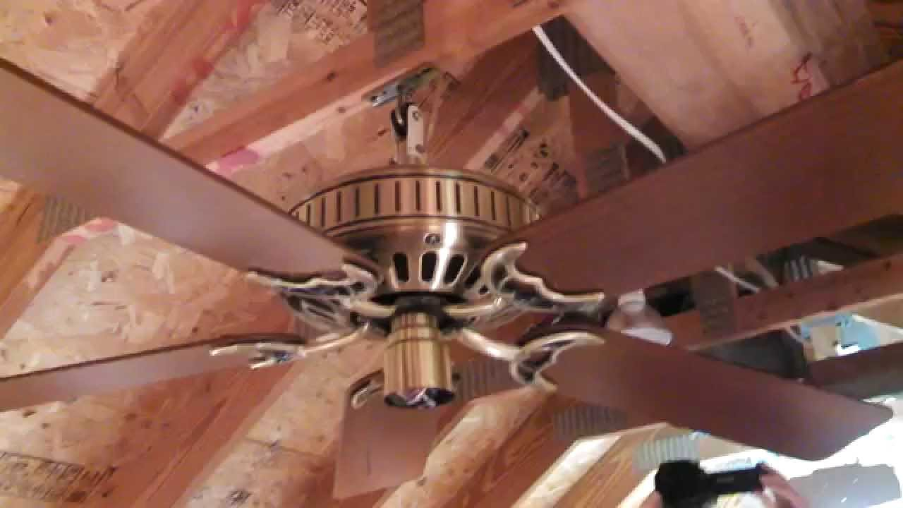Hunter studio series ceiling fan model 22930 from 1987 antique hunter studio series ceiling fan model 22930 from 1987 antique brass mozeypictures Choice Image